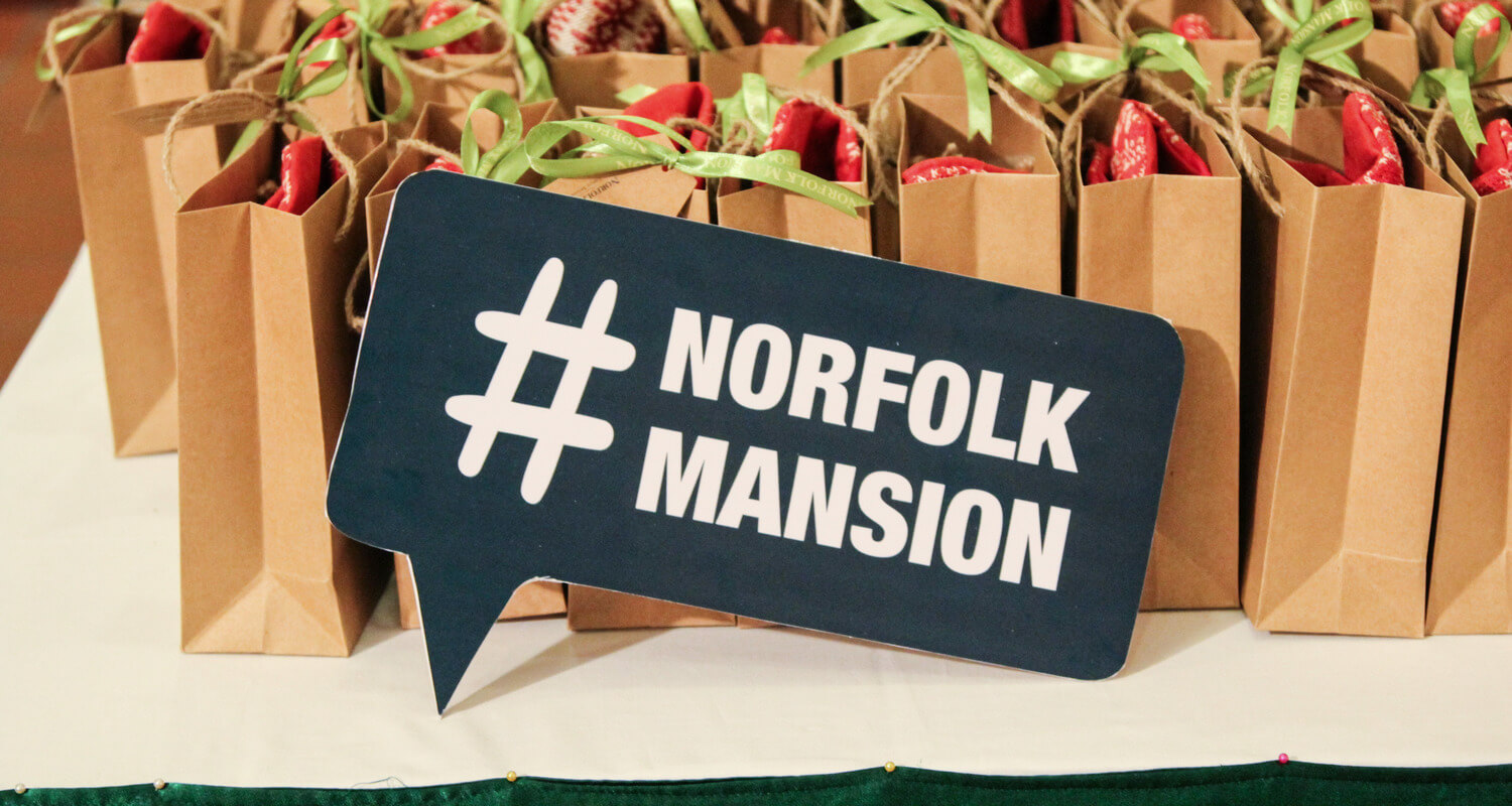Norfolk Mansion hosts Christmas Party for Tenants